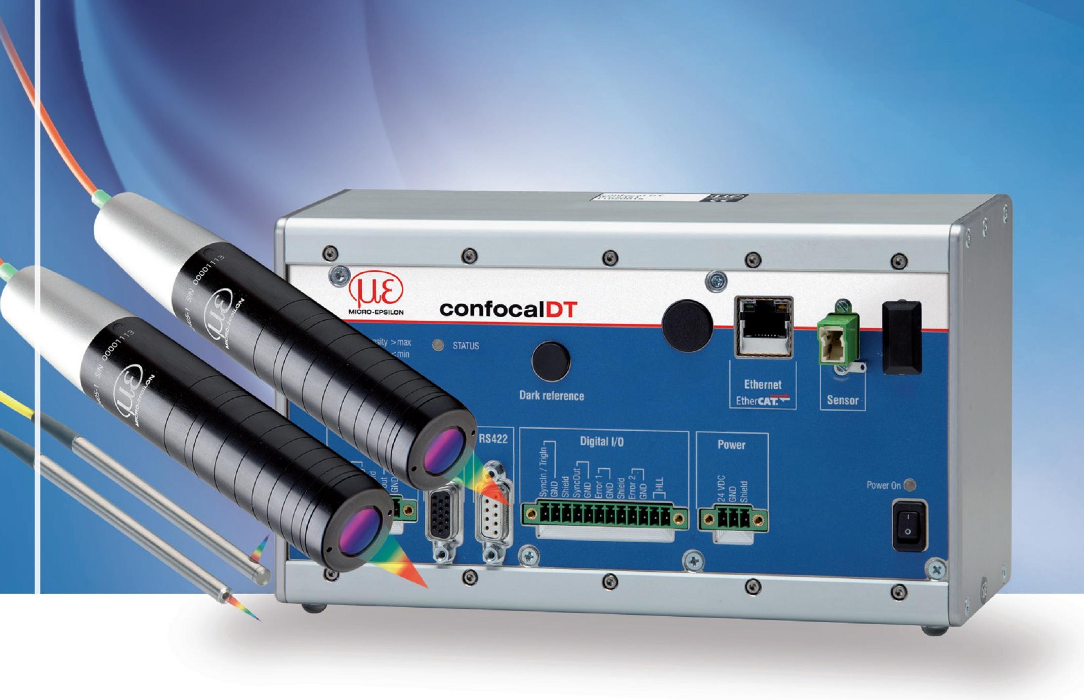 德国米铱集成光源光谱共焦位移传感器IFC2461