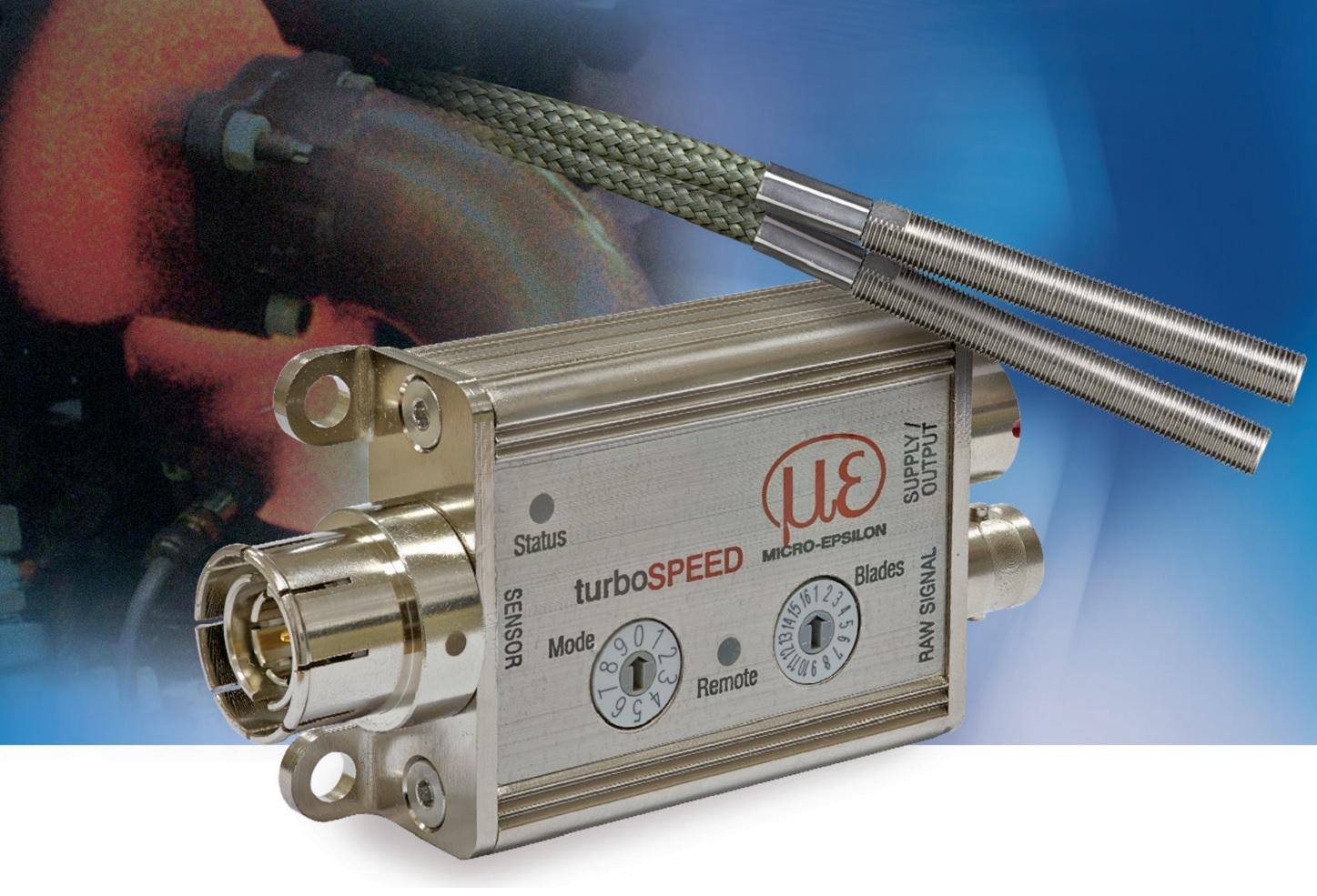 micro-epsilon  DZ140 电涡流位移传感器涡轮增压器测速系统