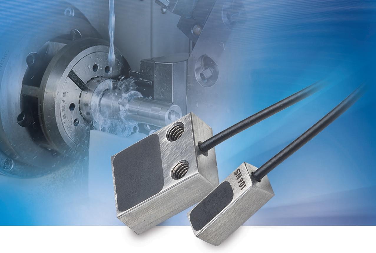 micro-epsilon  SGS 机床主轴膨胀电涡流位移传感器测量系统