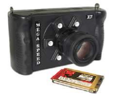 """Mega Speed 连续记录""""双模""""高速相机"""