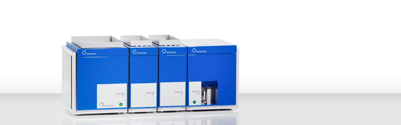elementar水質分析儀 TOC分析儀 acquray 系列
